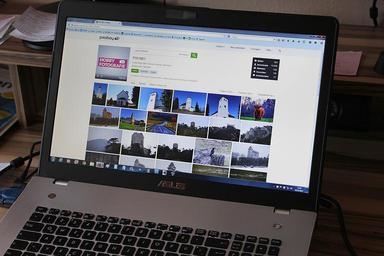 Web v notebooku