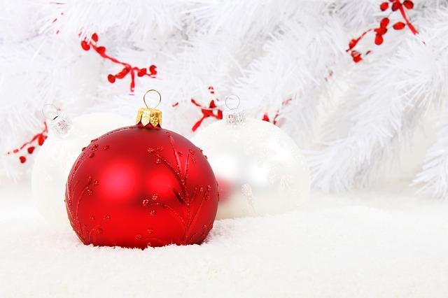 vánoční koulička