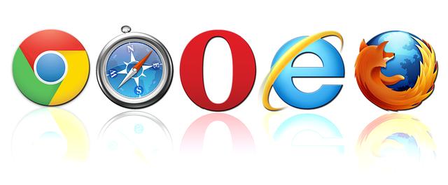 loga prohlížečů