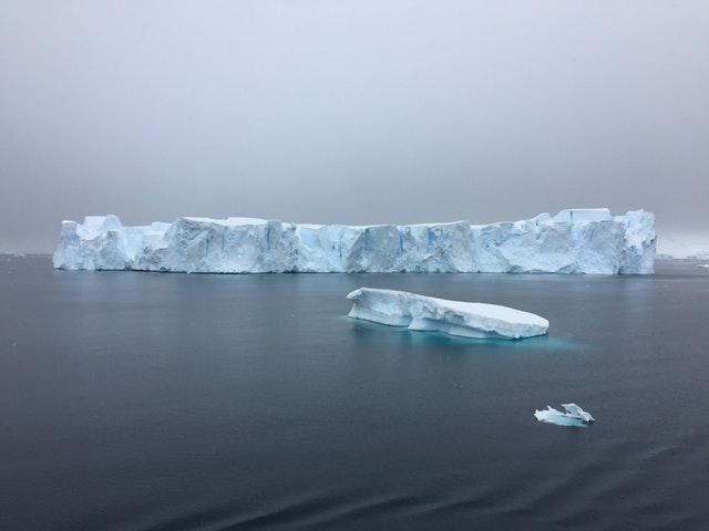 zima, ledovec
