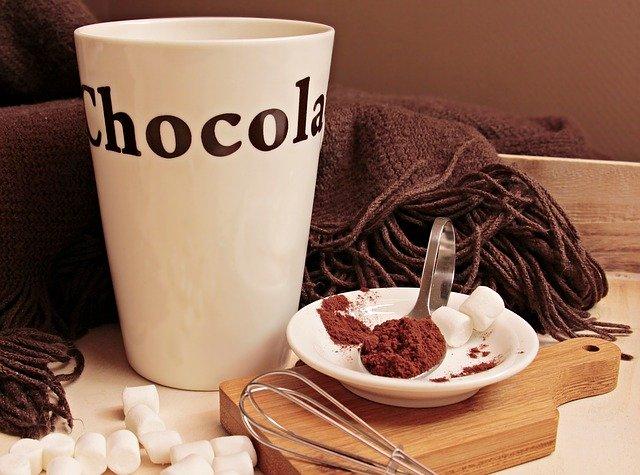 šálek kakaa