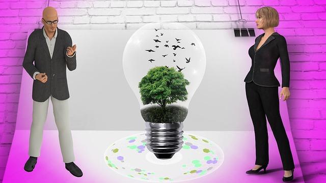 Moderní ekologické světlo